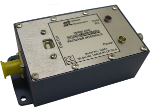 Receiver interface compatible with HeliNav helicopter underslung loadcell.
